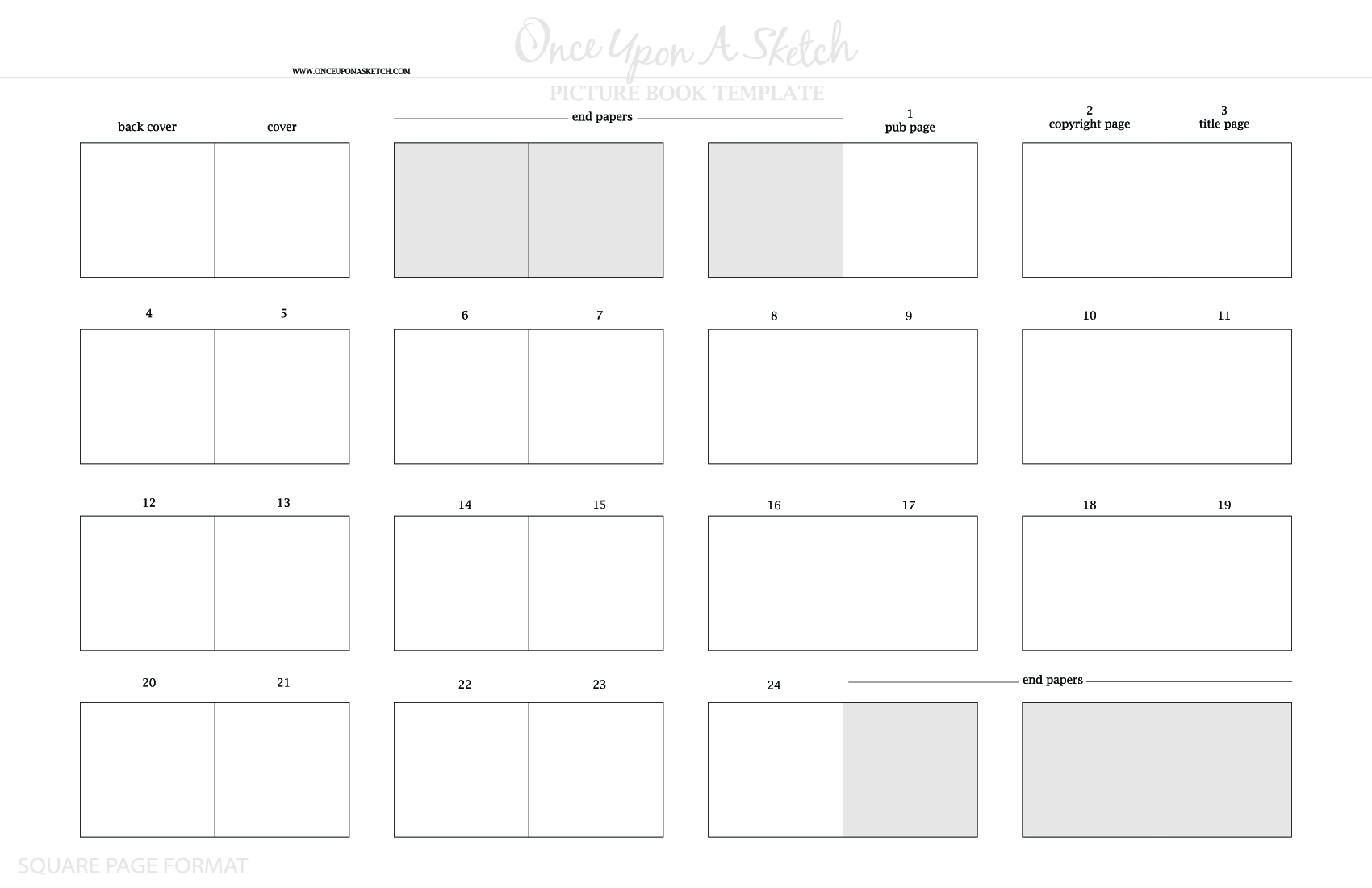 Once upon a sketch once upon a sketch was founded to for Magazine storyboard template