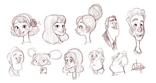 Character Design Shape Theory : Once upon a sketch was founded to