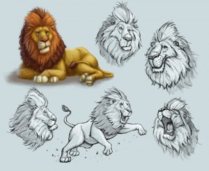 lion-character