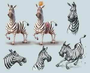 zebra-character